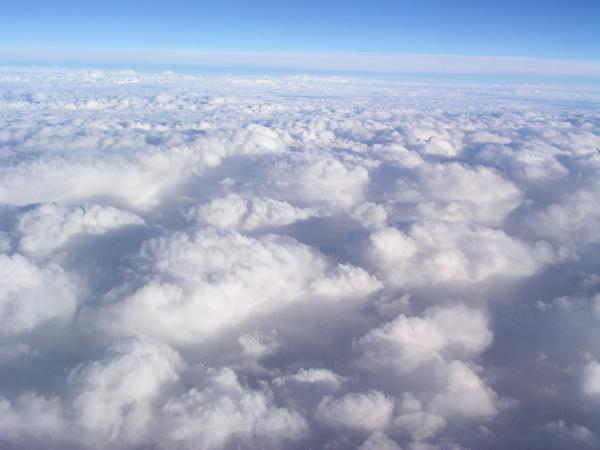 羊の群のような雲 雲海 ...