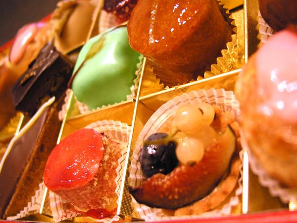 プチケーキのフリー写真素材、無料画像